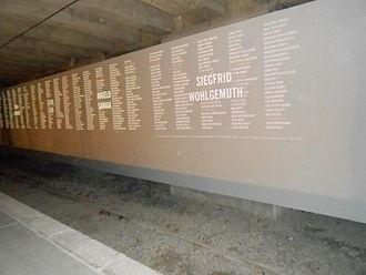 muro dei nomi
