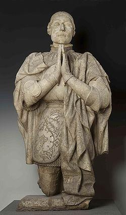 Museo Arqueológico Nacional - 50234 - Estatua orante de Pedro I de Castilla 01.jpg