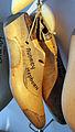 Museo ferragamo, modello in legno per calzature su misura di audrey hepburn.JPG