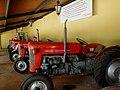 Museu Agromen de Tratores e Implementos Agrícolas, localizado no complexo do Centro Hípico e Haras Agromen em Orlândia. Tratores Massey Ferguson MF-50, MF-50-X e MF-65 que foram utilizados em fazendas do - panoramio.jpg