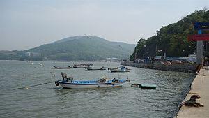 Muuido - Muuido from Ferry dock