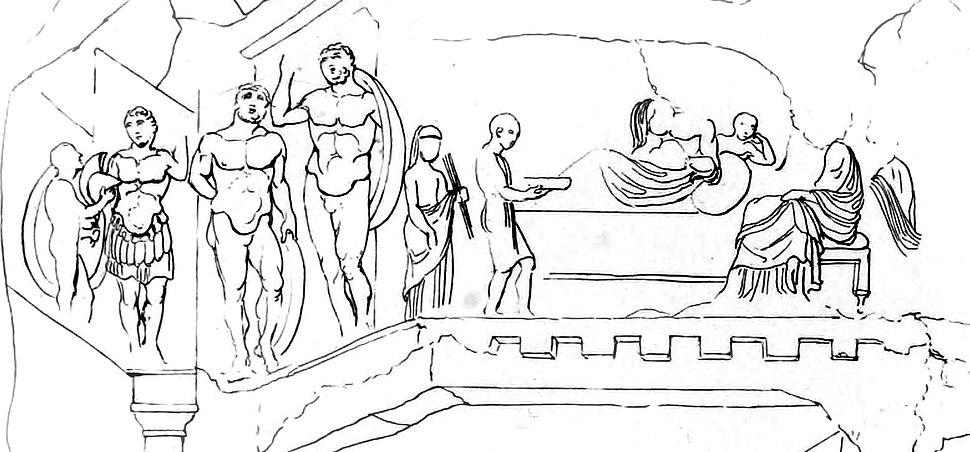 Myra tomb relief