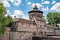 Nürnberg, Stadtbefestigung, Neutor, Feldseite 20170616 001.jpg
