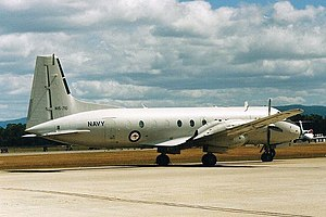 Fleet Air Arm (RAN) - The HS748 was the last fixed-wing aircraft type operated by the Fleet Air Arm.