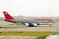 N672US B747-451 Northwest Airlines KIX 19MAY03 (8394883716).jpg