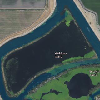 Widdows Island Island in California