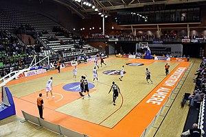 Topsportcentrum (Almere) - Image: NBB beker halve finale 2011