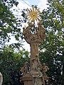 Nagykanizsa. Фрагмент колонны Святой Троицы. - panoramio.jpg