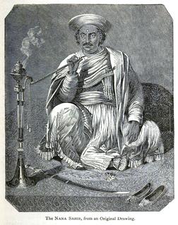 Nana Saheb 19th century Indian aristocrat