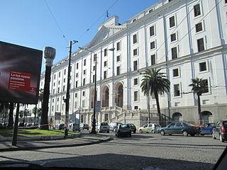 Ospedale LAlbergo Reale dei Poveri, Naples former public hospital/almshouse in Naples, southern Italy