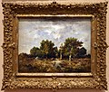 Narcisse-virgile diaz de la peña, la foresta di fontainebleau in autunno, 1872.jpg