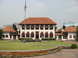 National Archives of Indonesia - The old  National Archives Building in Jalan Gajah Mada.