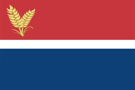 National flag of Šokci in Serbia