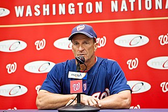Jim Riggleman - Riggleman with the Nationals