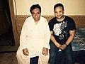 Nauman Ahmed with Ustad Sultan Fateh Ali Khan.jpg