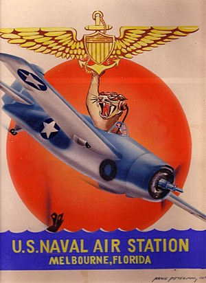 Naval Air Station Melbourne - Image: Naval Air Station Melbourne insignia