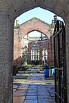 Nave from the tower of St Luke's, Liverpool.jpg