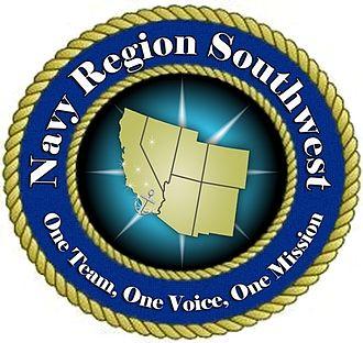 Navy Region Southwest - Command insignia of Navy Region Southwest