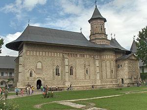 Neamț Monastery - The 14th-century church