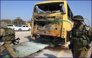 Shaar HaNegev school bus attack