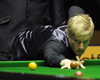 Neil Robertson (snooker player) - Neil Robertson at 2013 German Masters.