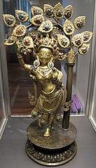 La reine Maya Devi donnant naissance au prince Siddhârta