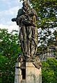 Nepomuk-Statue an der Hofgartenrampe in Duesseldorf-Altstadt, von Nordwesten.jpg
