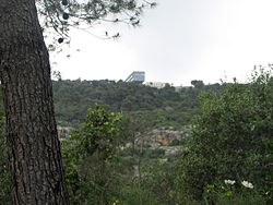 Haifa University Dorms - View from Park Nesher