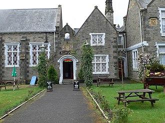 Bala, Gwynedd - Neuadd y Cyfnod (English: Period Hall. Formerly the grammar school)