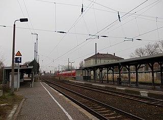 Neukieritzsch station railway station in Neukieritzsch, Germany