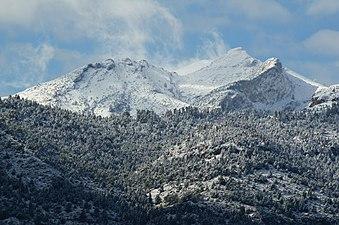 Nevada en la Sierra de las Nieves - Yunquera (Málaga).JPG