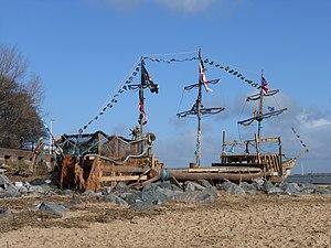 New Brighton, Merseyside - Image: New Brighton Pirate ship (1)
