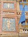 New City Hall. Glazed ceramic decorations. Listed ID 646. - 62-64, Váci utca, Budapest District V, Hungary.JPG