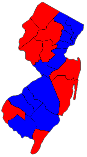 United States Senate election in New Jersey, 2002 - Image: New Jersey Guber 2005
