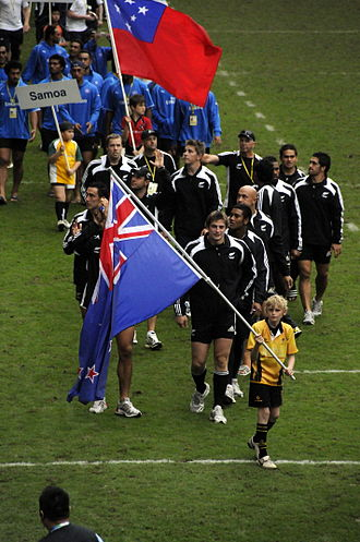 New Zealand national rugby sevens team - New Zealand national rugby sevens team at the 2009 Hong Kong Sevens