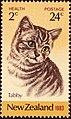 New Zealand stamp 1983 - Tabby cat.jpg