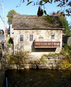 Old mill in Newburgh