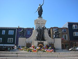 National War Memorial (Newfoundland) - The National War Memorial