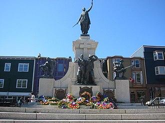 National War Memorial (Newfoundland) - The National War Memorial