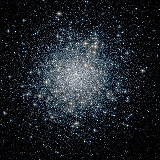 NGC 1261 globular cluster in the constellation Horologium