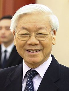 Nguyễn Phú Trọng General Secretary of the Communist Party and President of Vietnam