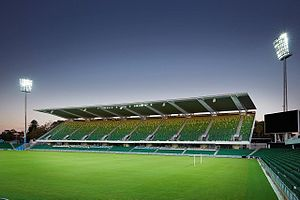 Perth Glory FC - Perth Oval, Home of Perth Glory FC