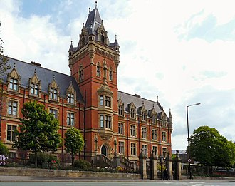 Arden School of Theatre - Nicholls House. Currently part of The Manchester College