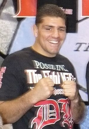 English: Nick Diaz at the first UFC Fan Expo i...