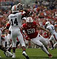 Nick Marshall in 2015 Outback Bowl.jpg