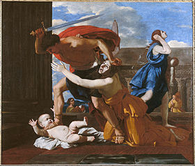 Image illustrative de l'article Le Massacre des Innocents (Poussin)