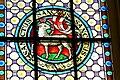 Niederkappel Pfarrkirche - Fenster 3a Lamm Gottes.jpg