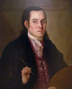 Nikola Nešković, self-portrait, cca 1775, National Museum of Serbia.jpg