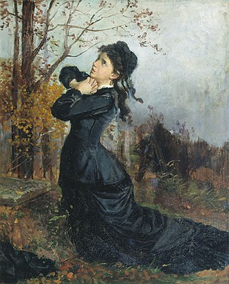 Nikolai Chekhov - Image: Nikolay Chekhov Young Widow