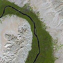 Kort over Nilen